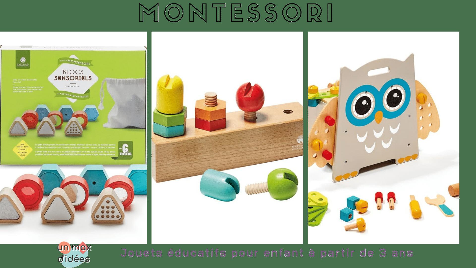 jeux montessori pour veiller la curiosit des enfants. Black Bedroom Furniture Sets. Home Design Ideas