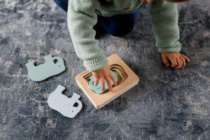 1er puzzle en bois