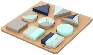 puzzle montessori formes geométriques