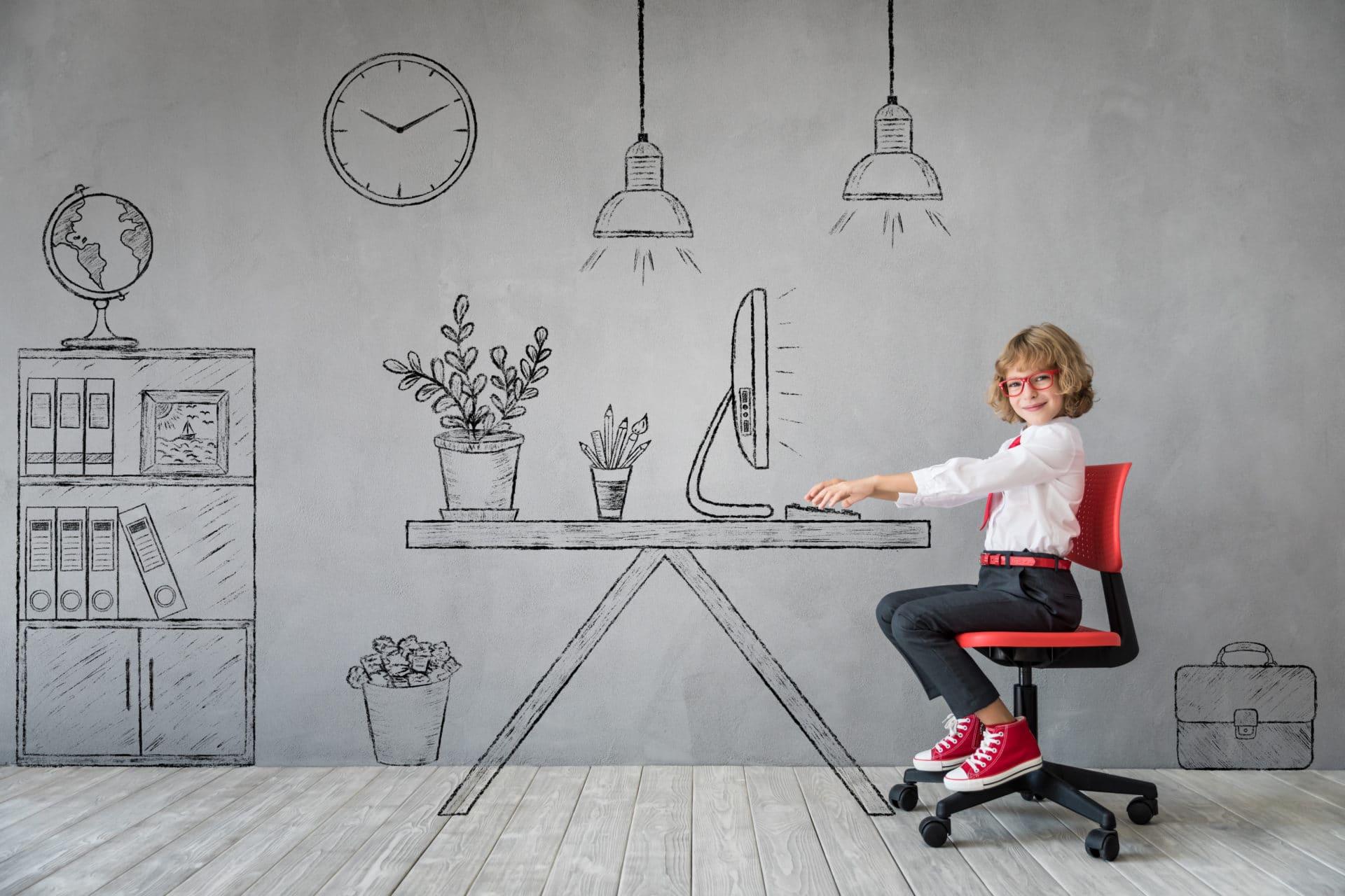 Dessin D Une Chambre D Enfant bureau enfant - aménager un espace de travail dans la