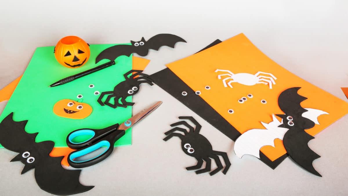 Idées bricolage d'Halloween pour assistante maternelle