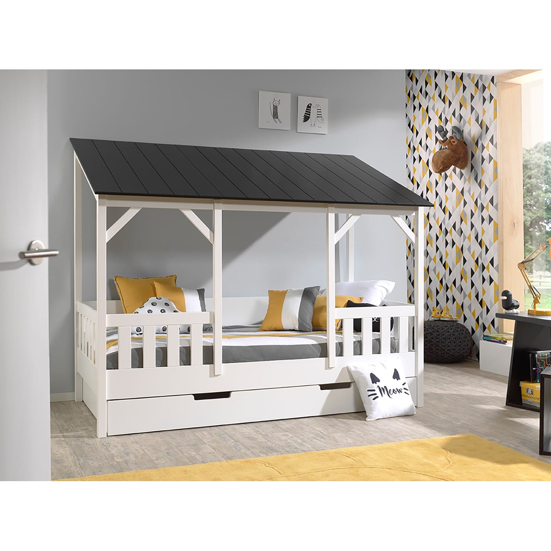 Diy Lit Cabane 90X190 lit pour chambre de fille : lit original - un max d'idées