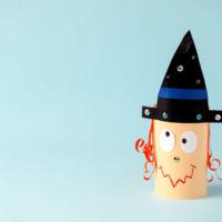 Idées d'activités manuelles sorcière halloween pour nounou, ecole petite et moyenne section, périscolaire et maison