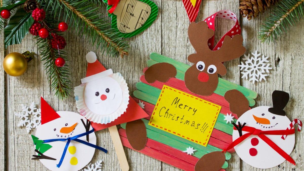 Noël : Top des loisirs créatifs et matériel pour enfant