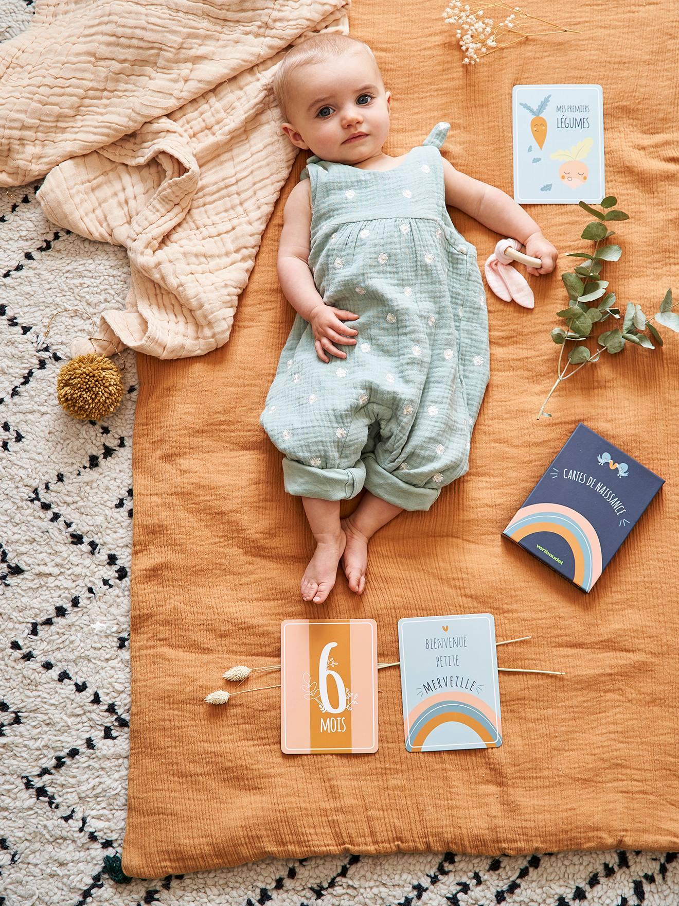 photo bébé avec repère