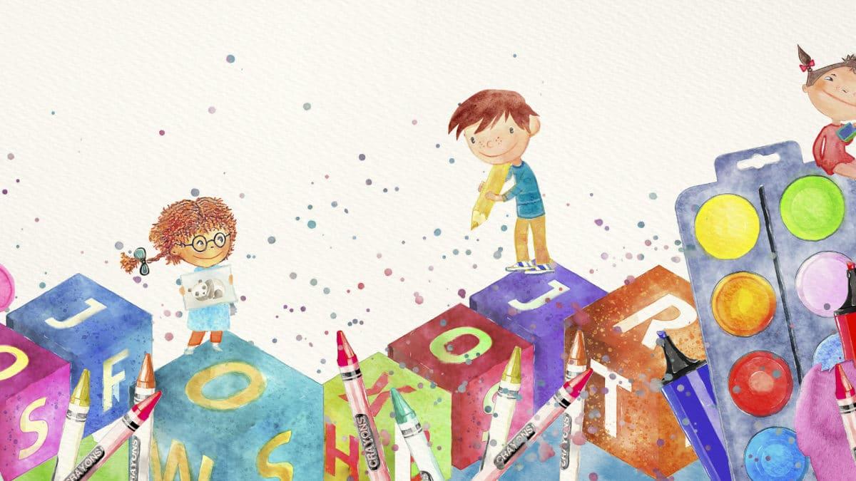 Idée de cadeau pour noel pour filles et garçons à partir de 3 ans : le coffret artistique