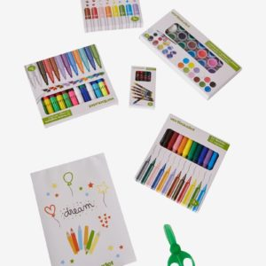 malette enfant feutre et peinture cadeau enfant 3 ans, 4 ans, 5 ans