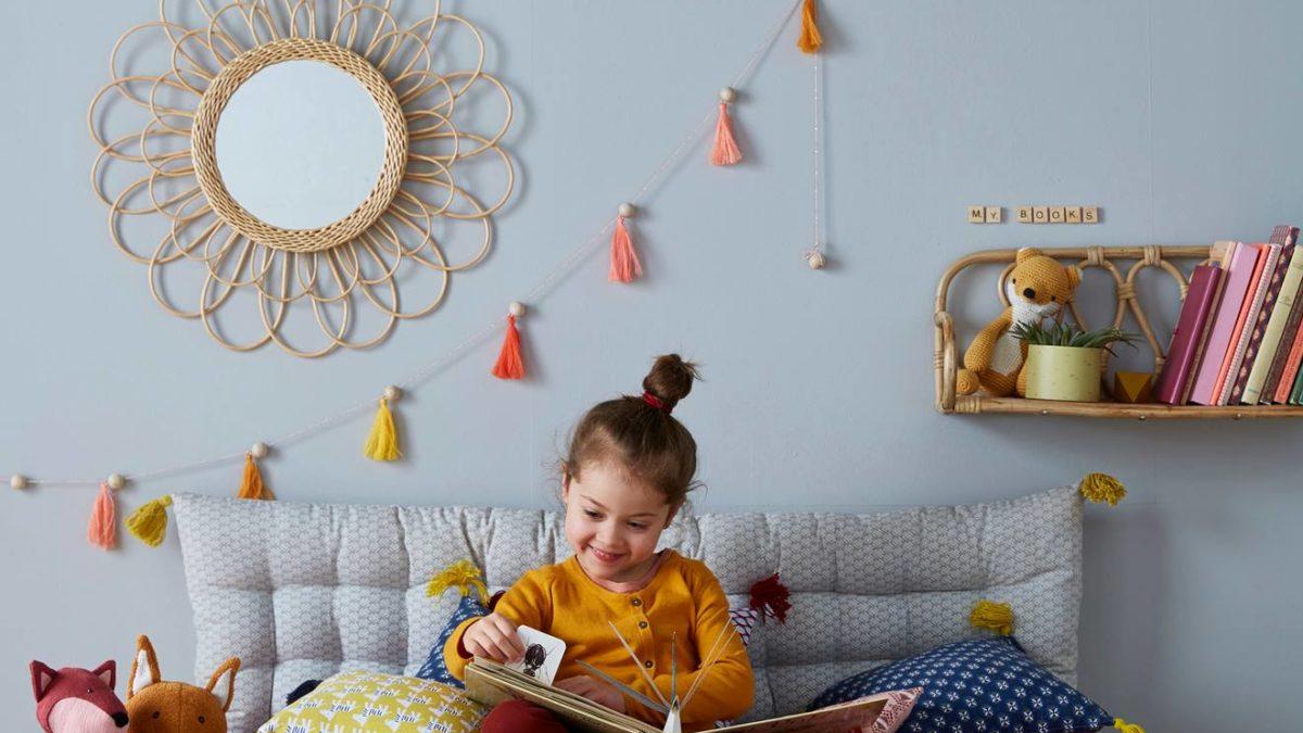 Aménager un coin lecture pour enfant avec un matelas de sol