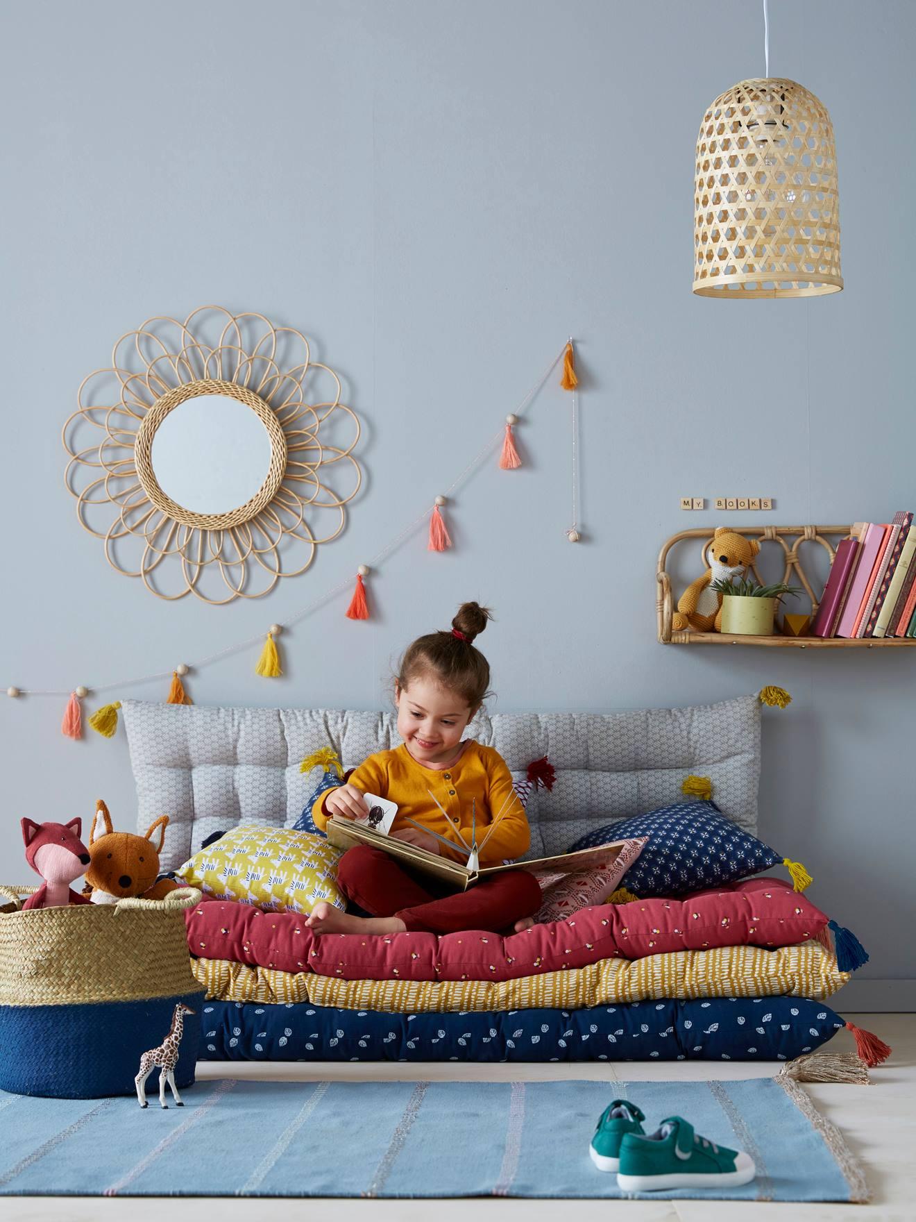 Sol Chambre D Enfant aménager un coin lecture pour enfant avec un matelas de sol