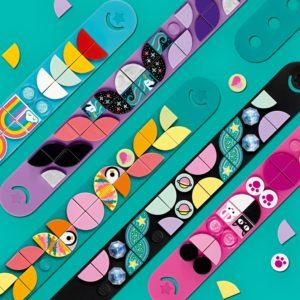 bracelets lego dots pour fille