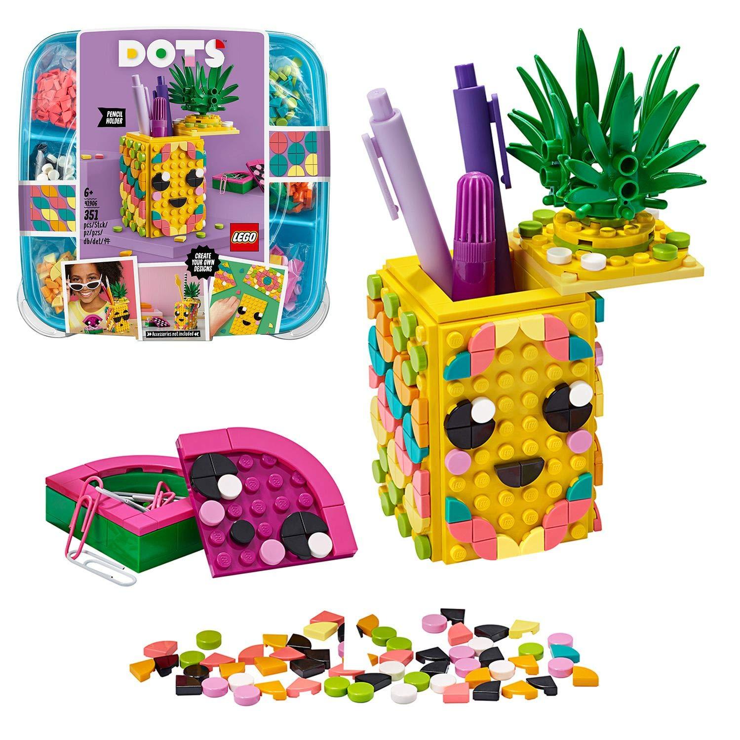 loisirs creatifs lego pot à crayons