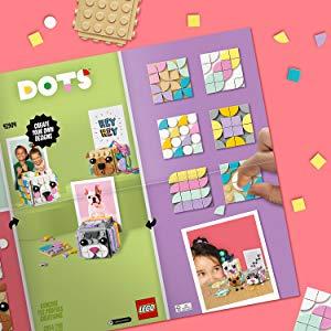 idée composition et création lego dots