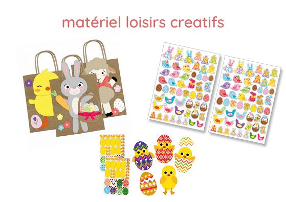 Pâques : loisirs créatifs, activités manuelles, matériel et fournitures créatives pour Pâques