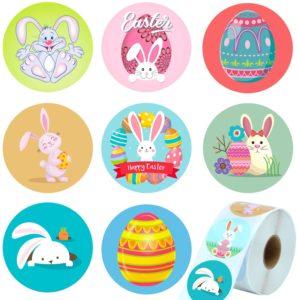 stickers pâques enfant