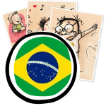 gestes barrieres affiches en portugais bresil