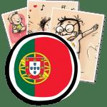 gestes barrieres affiches en portugais