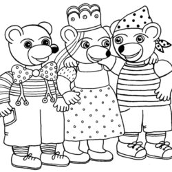 coloriage petit ours brun se déguise avec ses amis
