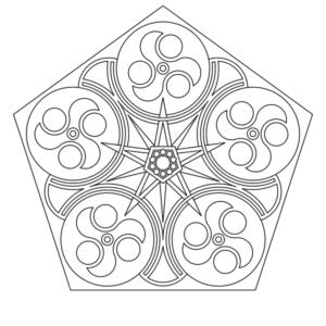 imprimer un coloriage de mandala