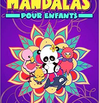 cahier de mandala à colorier