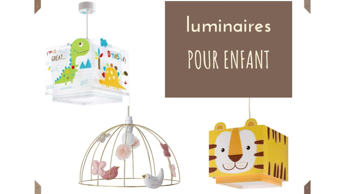 Luminaire, lampe, éclairage, suspension, lustre, plafonnier chambre enfant