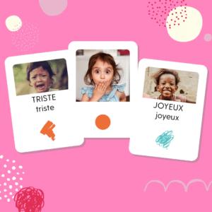 cartes émotions enfant