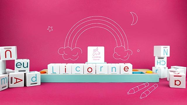 Lilémø : le jeu de cubes high-tech multisensoriel pour apprendre à lire !