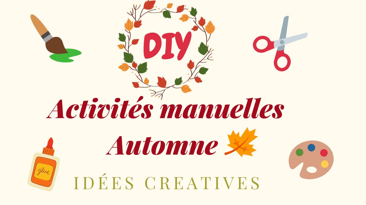 activités creatives automne