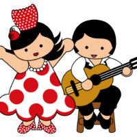 clipart couple danse et musique