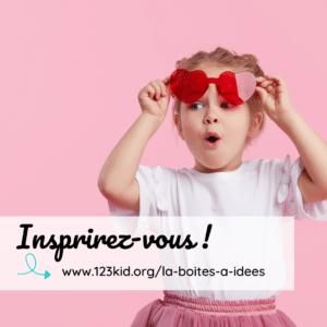 inspirez vous 123 kids boîtes à idées