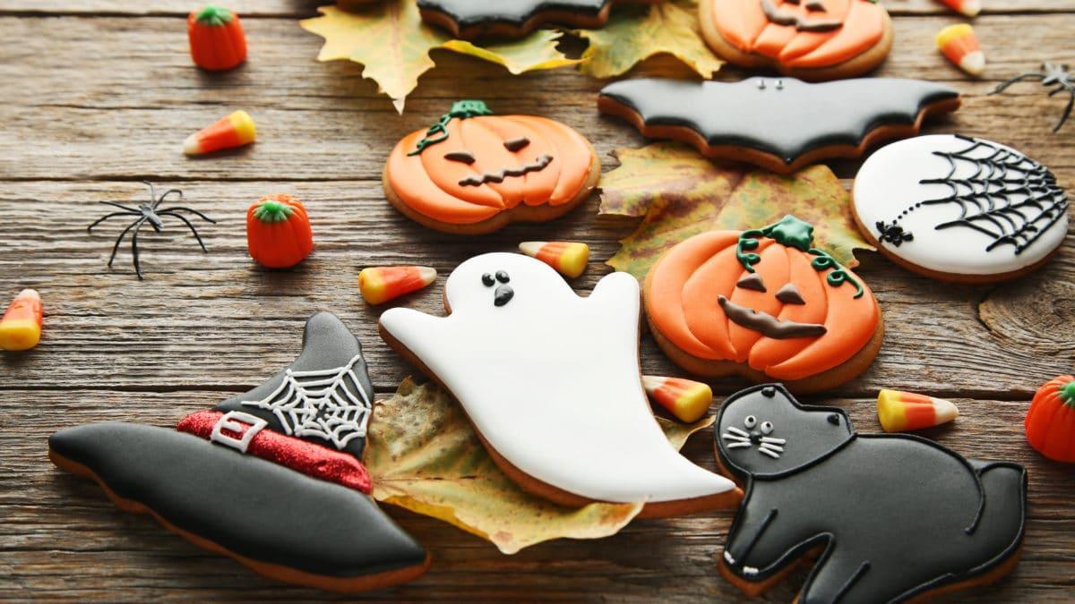 Moule à gâteau Halloween et décoration pour gâteau d'halloween – Gâteaux et pâtisserie pour fêter Halloween avec les enfants