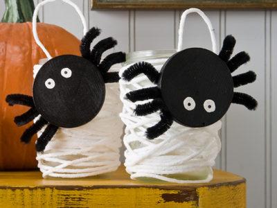 activité halloween araignée