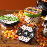 boîte bonbon halloween idée créative