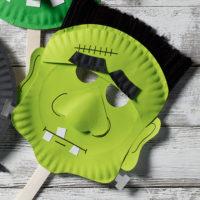 bricolage halloween facile avec assiette en carton