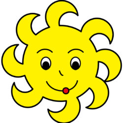 clipart soleil