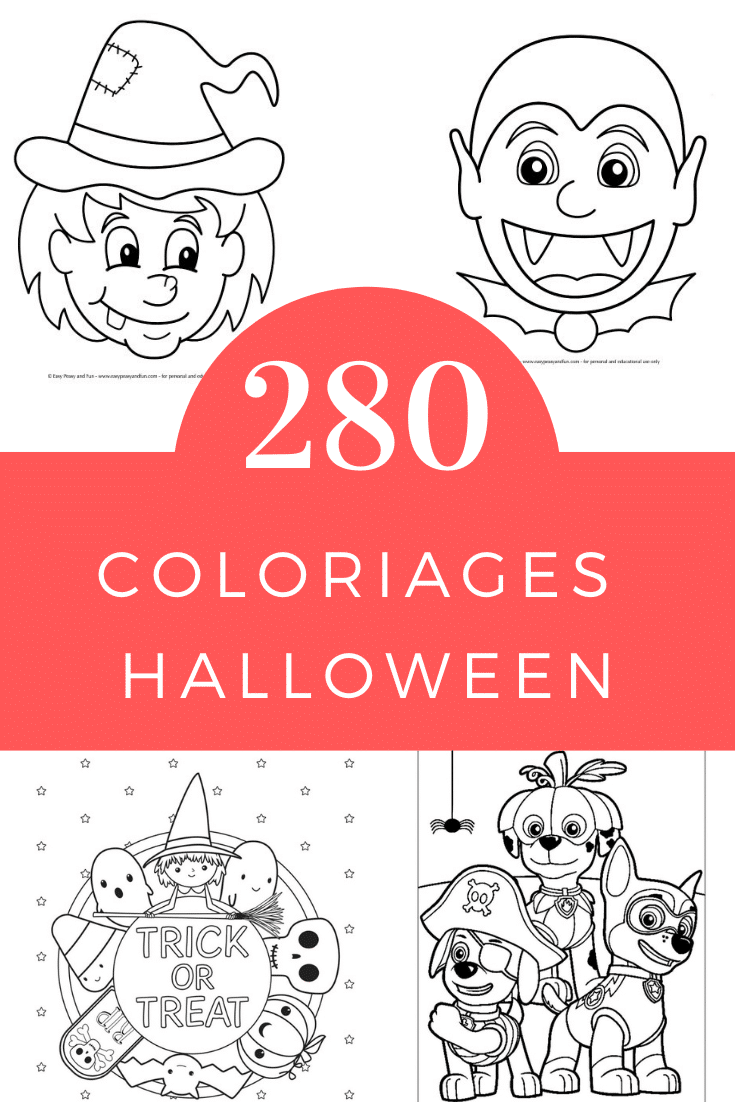 Coloriage Halloween Un Max D Idees