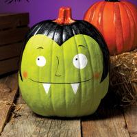 décorer une citrouille pour halloween idée créative