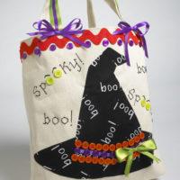 fabriquer un sac pour halloween diy et gabarit