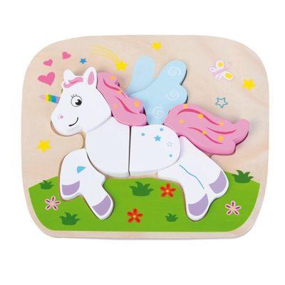 cadeau fille 2 ans puzzle licorne