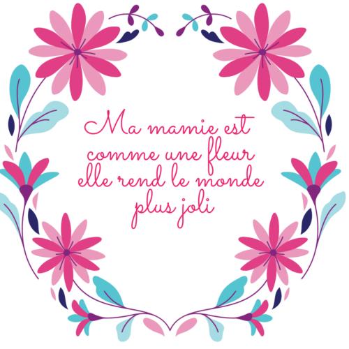 carte fête des mamies à imprimer gratuit