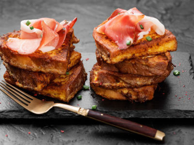 pain perdu salé recettes gourmandes