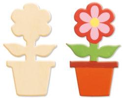 activités manuelles enfant fleurs fourniture creative
