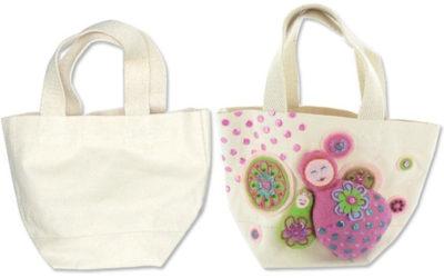 cadeau fête des mères à décorer sac