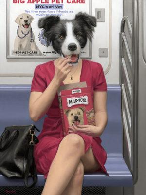 les animaux dans le métro mattehew Grabelsky