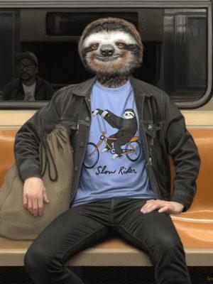 scène de vie dans le métro new yorkais mattehew Grabelsky