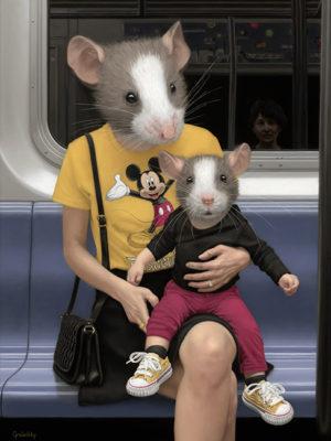 souris dans le métro new yorkais mattehew Grabelsky